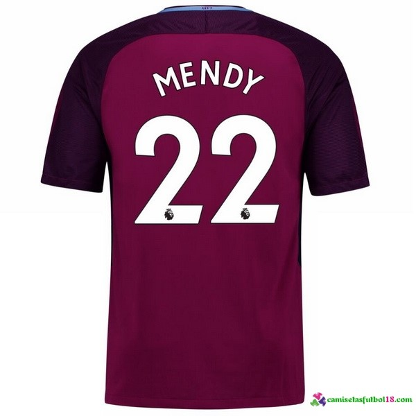 Mendy Camiseta 2ª Kit Manchester City 2017 2018