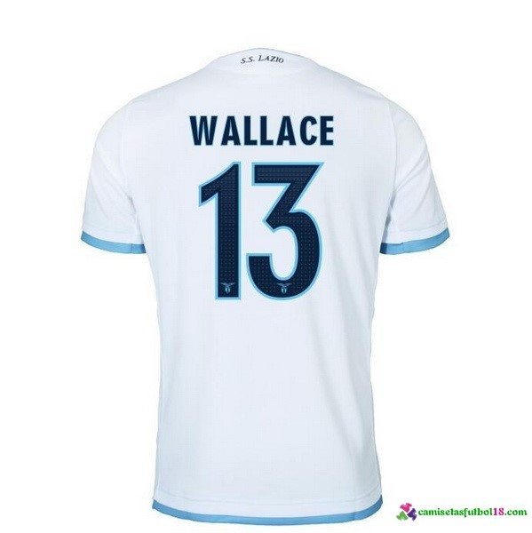 Wallace Camiseta 3ª Kit Lazio 2016 2017