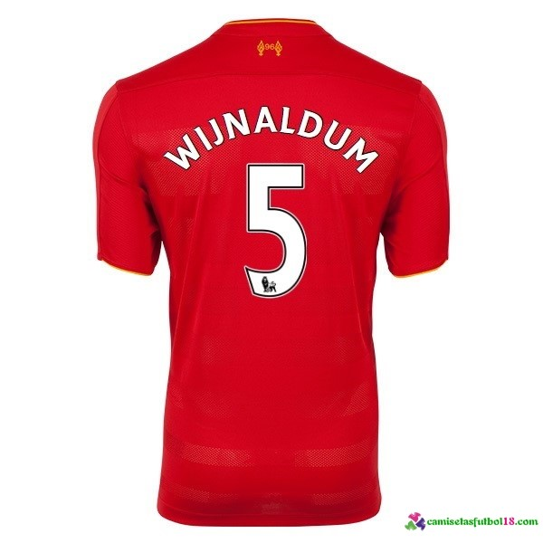 Wijnaldum Camiseta 1ª Kit Liverpool 2016 2017