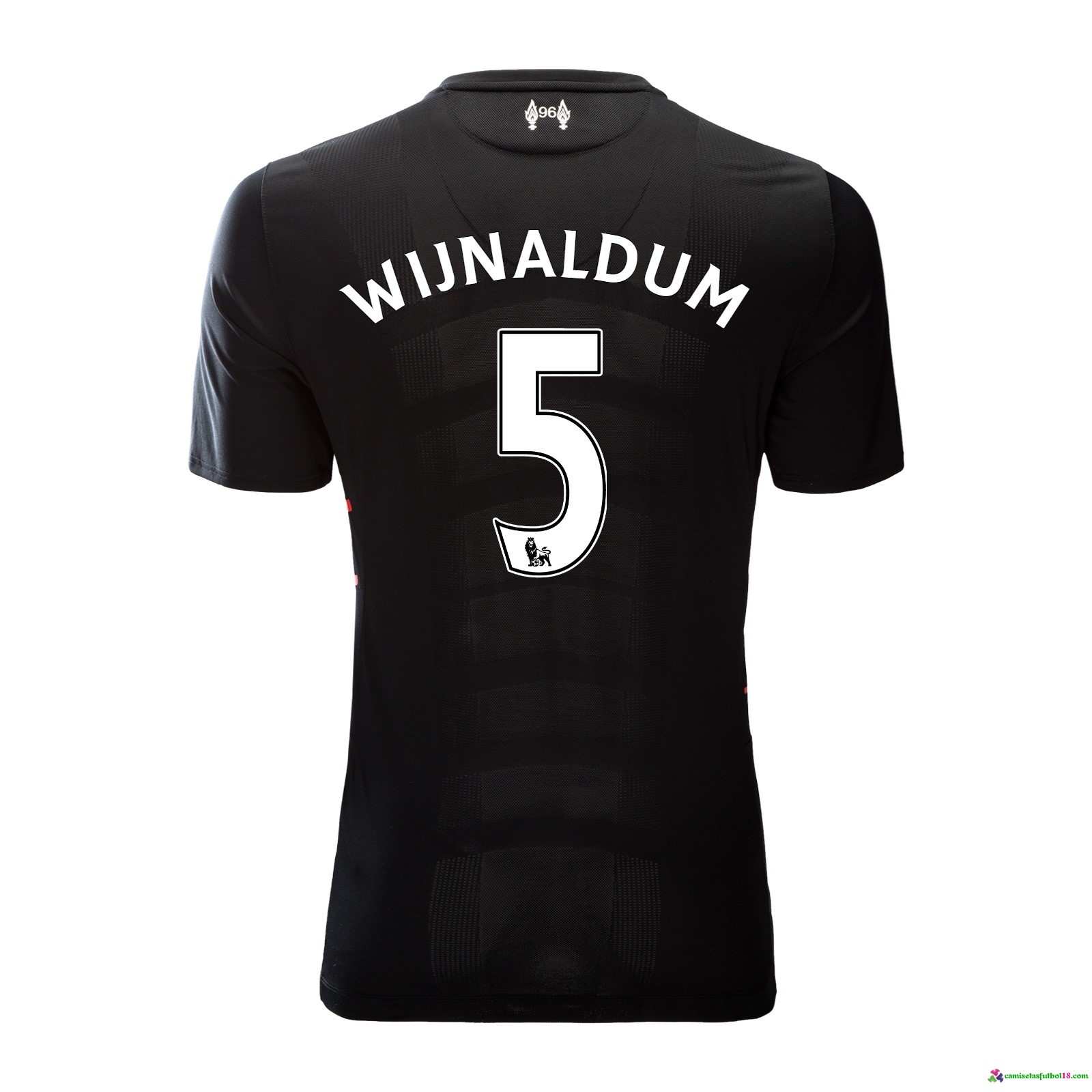 Wijnaldum Camiseta 2ª Kit Liverpool 2016 2017