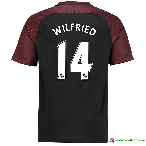 Wilfried Camiseta 2ª Kit Manchester City 2016 2017