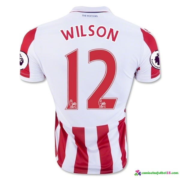 Wilson Camiseta 1ª Kit Stoke City 2016 2017