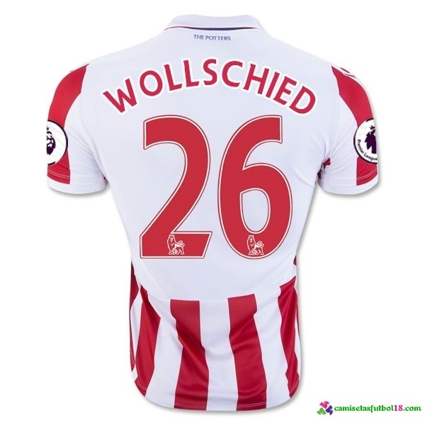 Wollschied Camiseta 1ª Kit Stoke City 2016 2017
