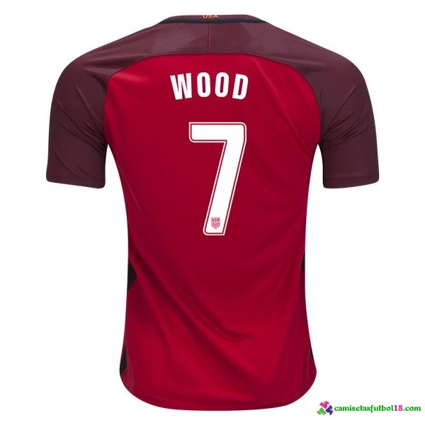 Wood Camiseta 3ª Kit Estados Unidos 2017