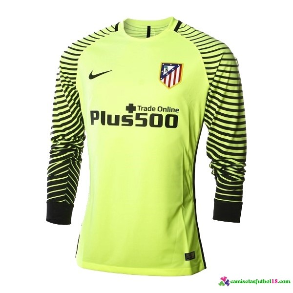 Camiseta 1ª Kit ML Atletico Madrid Portero 2016 2017