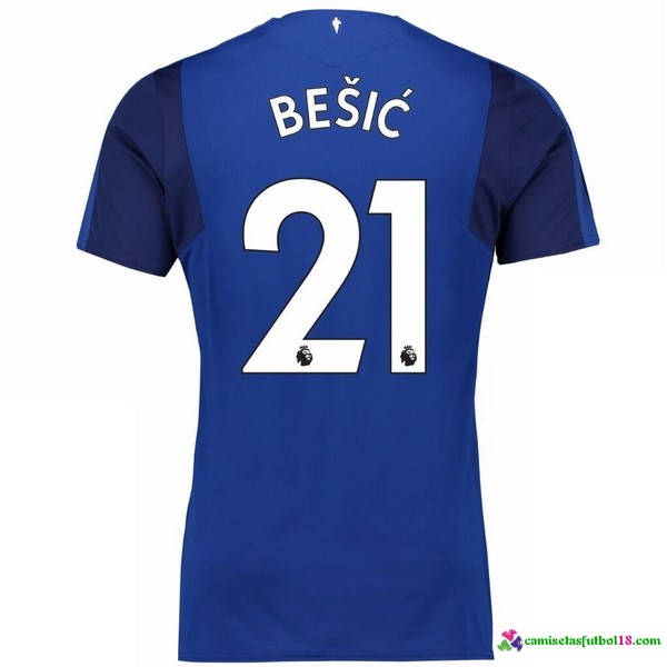 Besic Camiseta 1ª Kit Everton 2017 2018