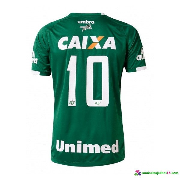 Unimed Camiseta 1ª Kit Chapecoense 2016 2017
