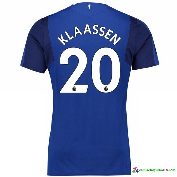 Klaassen Camiseta 1ª Kit Everton 2017 2018