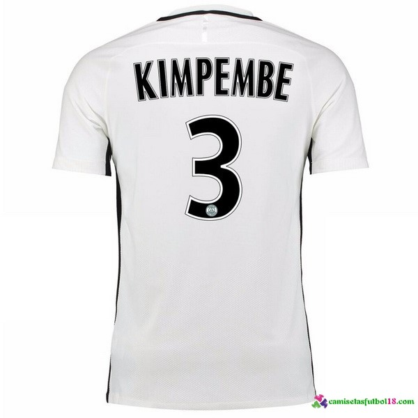 Kimpembe Camiseta 3ª Kit Paris Saint Germain 2016 2017