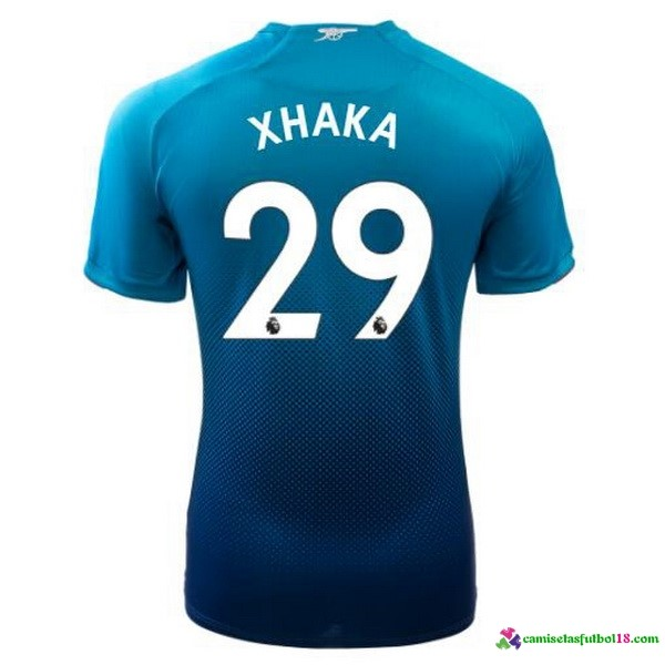Xhaka Camiseta 2ª Kit Arsenal 2017 2018
