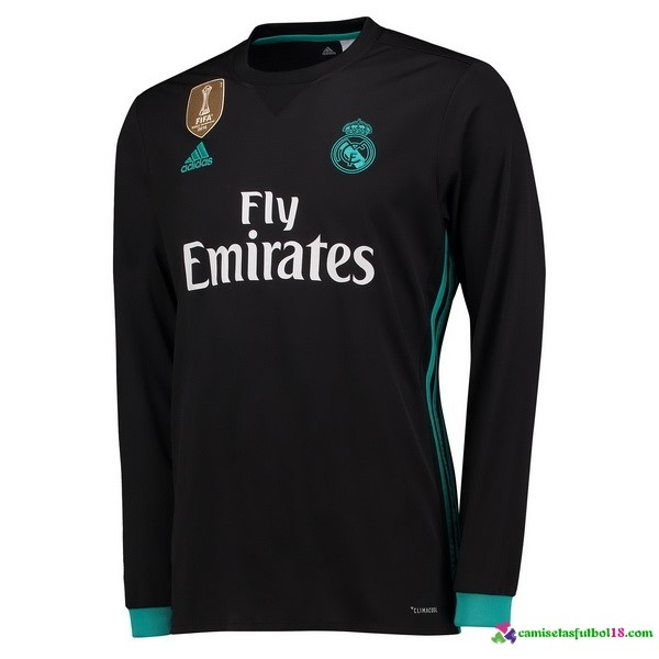 Camiseta 2ª Kit ML Real Madrid 2017 2018