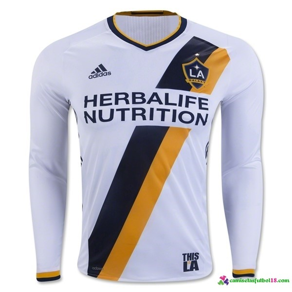 Camiseta 1ª Kit ML LA Galaxy 2016 2017