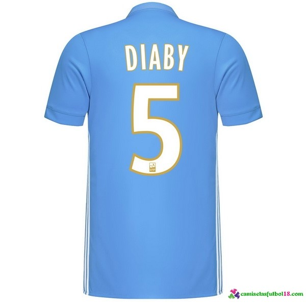 Diaby Camiseta 2ª Kit Marsella 2017 2018