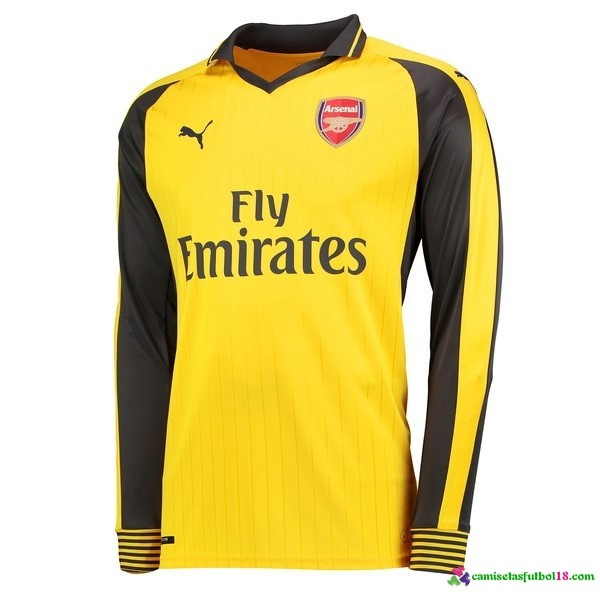 Camiseta 2ª Kit ML Arsenal 2016 2017