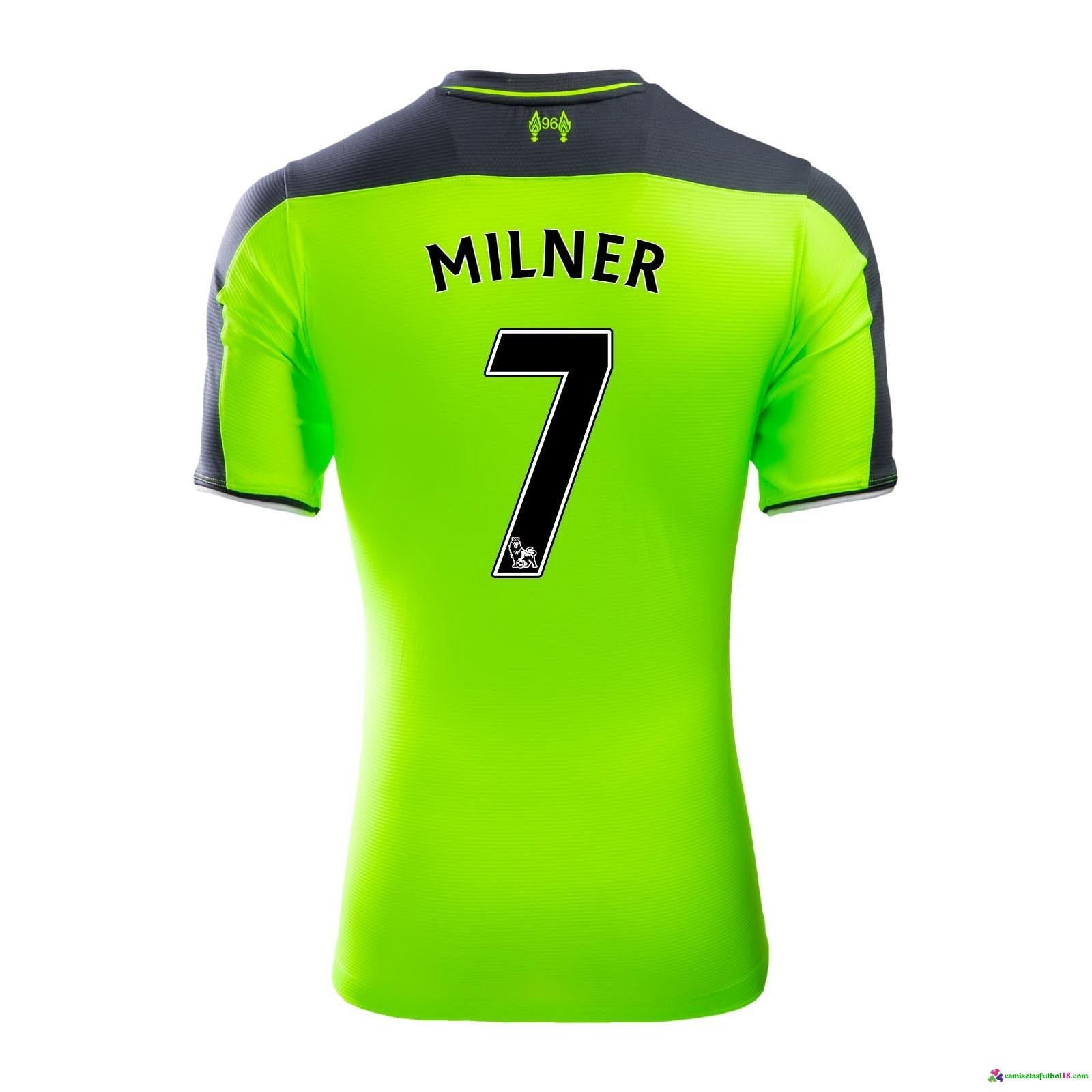 Milner Camiseta 3ª Kit Liverpool 2016 2017