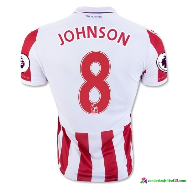 Johnson Camiseta 1ª Kit Stoke City 2016 2017