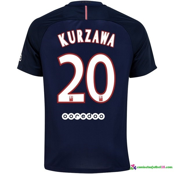 Kurzawa Camiseta 1ª Kit Paris Saint Germain 2016 2017