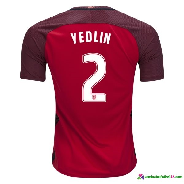 Yedlin Camiseta 3ª Kit Estados Unidos 2017