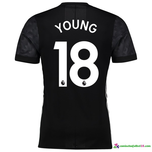 Young Camiseta 2ª Kit Manchester United 2017 2018