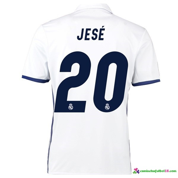 Jese Camiseta 1ª Kit Real Madrid 2016 2017