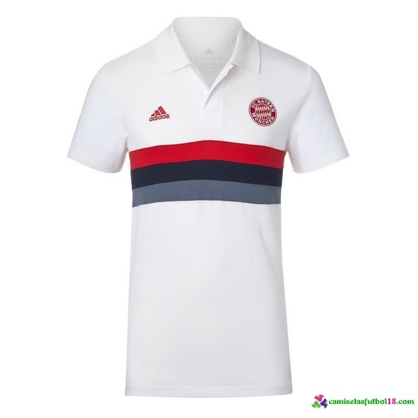 Polo Del Bayern Munich 2016 2017 Blanco