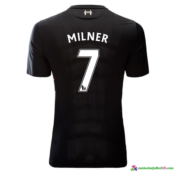 Milner Camiseta 2ª Kit Liverpool 2016 2017