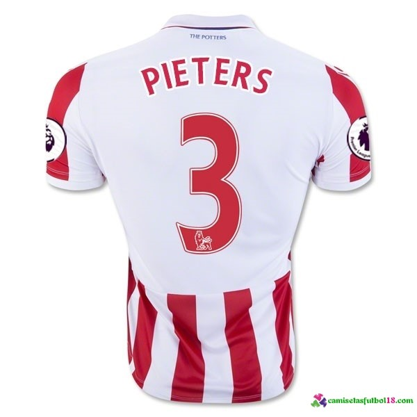 Pieters Camiseta 1ª Kit Stoke City 2016 2017