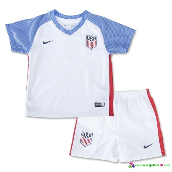 Camiseta 1ª Kit Conjunto USA Niño 2016