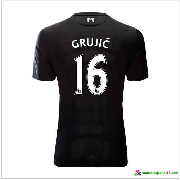 Grujic Camiseta 2ª Kit Liverpool 2016 2017