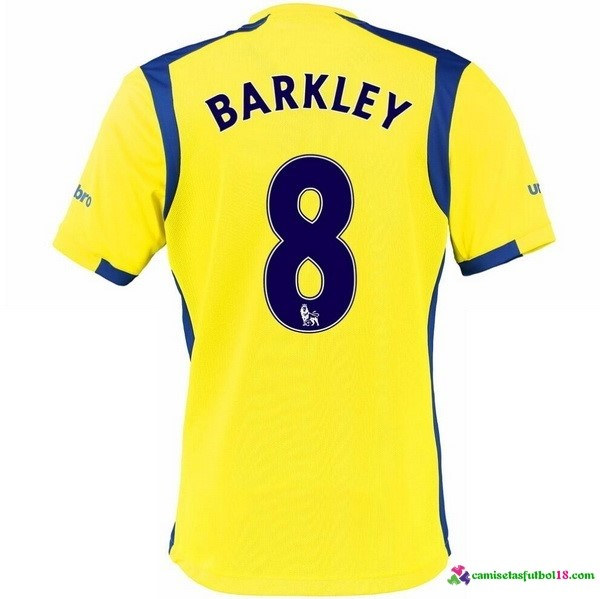 Barkley Camiseta 3ª Kit Everton 2016 2017