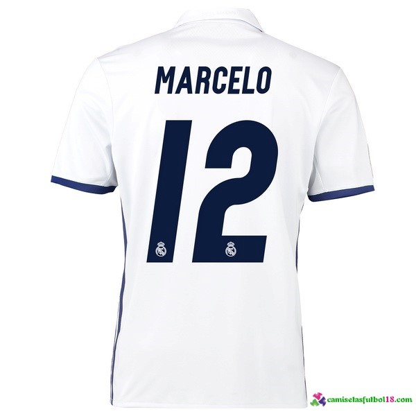 Marcelo Camiseta 1ª Kit Real Madrid 2016 2017