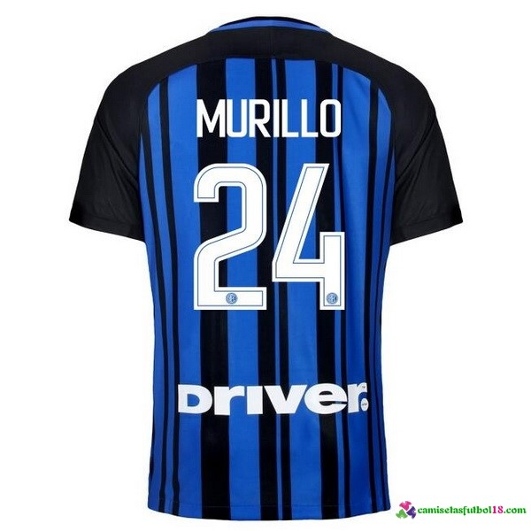 Murillo Camiseta 1ª Kit Inter Milan 2017 2018
