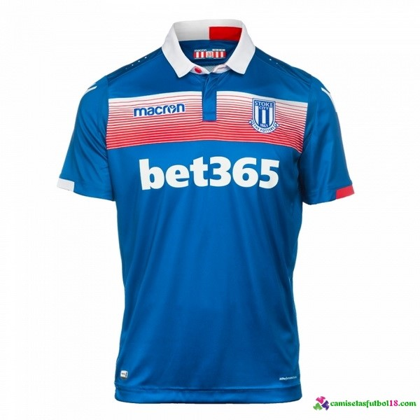 Camiseta 2ª Kit Stoke City 2017 2018