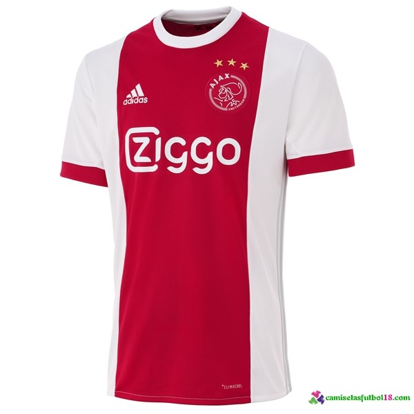Tailandia Camiseta 1ª Kit Ajax 2017 2018