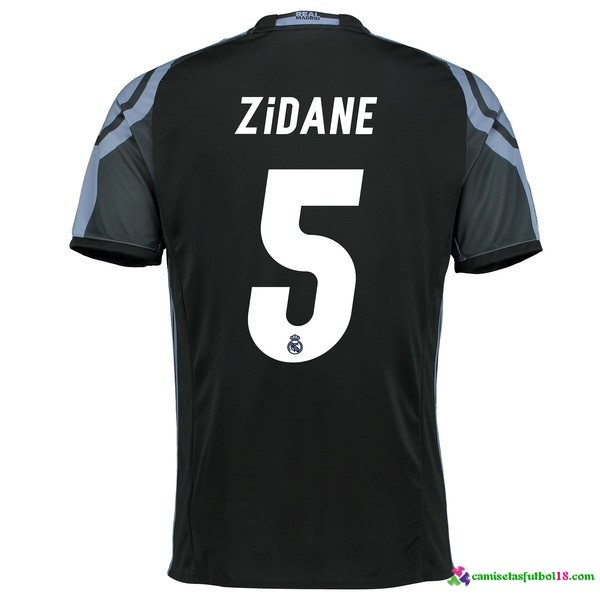 Zidane Camiseta 3ª Kit Real Madrid 2016 2017